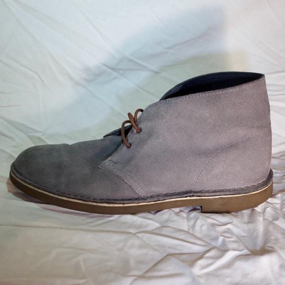 fast delivery designer fashion pre order Clarks Desert Boots Grey 9.5